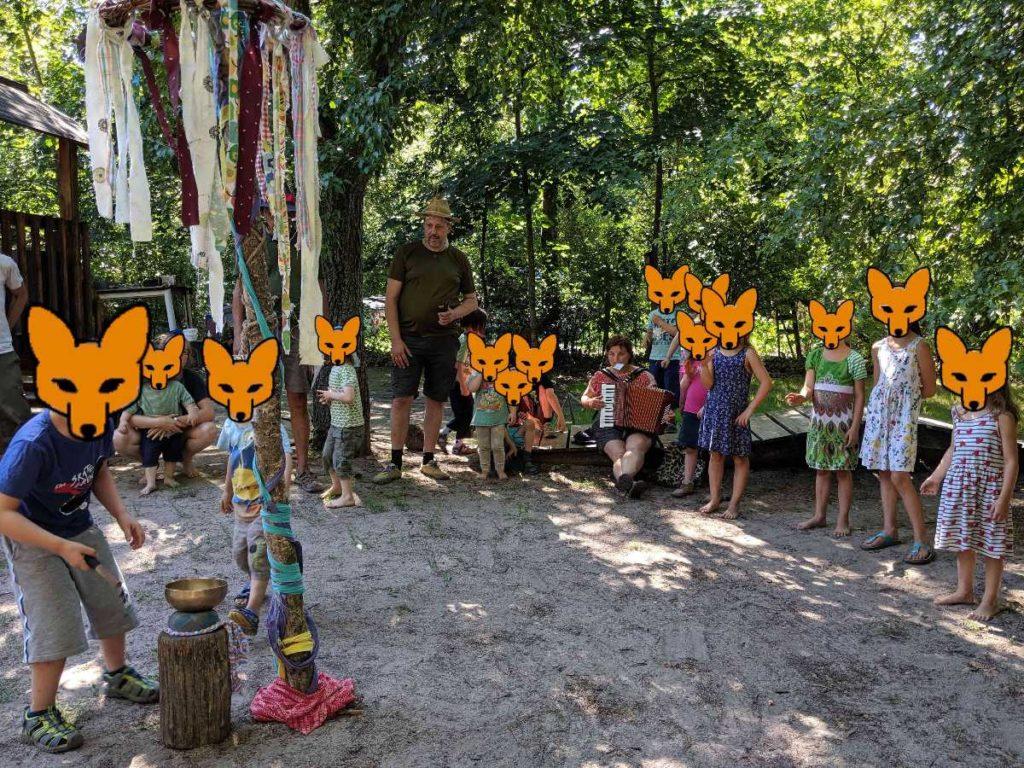 Sommerfest der Waldfüchse